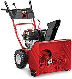 Troy-Bilt 24 in. Two-Stage 208cc Electric Start Self Propelled Gas Snow Blower...