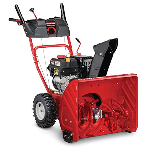 Troy-Bilt 24 in. Two-Stage 208cc Electric Start Self Propelled Gas Snow Blower Storm 2410 Model (Troybilt Snow Blower 2410)