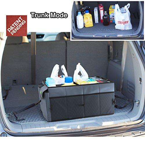 Trunk storage organizer