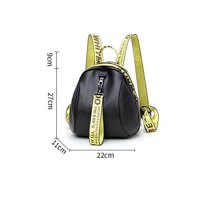 Amazon.com: Womens Backpack Color Strips Letter Strips Small Backpack Travel Bag Anti-Theft Zipper Bag Mobile Cosmetics Wallet IPAD One Shoulder Handheld ...