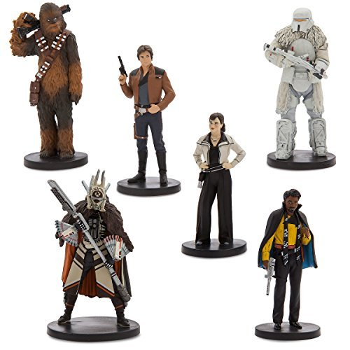 Disney Solo  A Star Wars Story Han Solo Figure Play Set 6 Piece