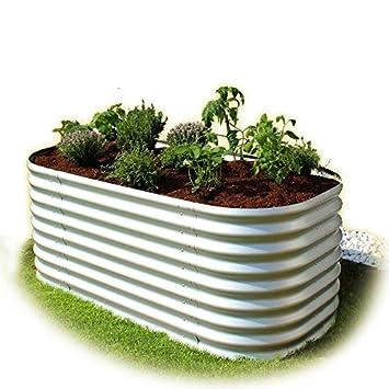 Gartenpirat Hochbeet Aus Metall Alu Zink Beschichtet 162 X 82 X 63