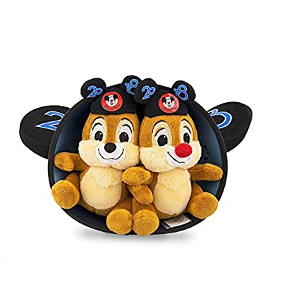 Walt Disney World 2020 Chip and Dale Mickey Mouse Ears Hat and Plush Doll Set: Toys & Games