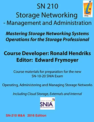 Storage Management Management and Administration: SN210 (Storage Networking) Doc