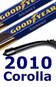 2010 Toyota Corolla Replacement Windshield Wiper (2 Blades)