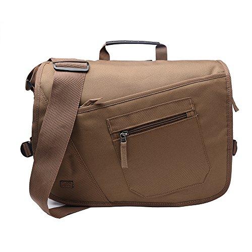 Qipi Messenger Bag - Shoulder Bag for Men & Women, 15