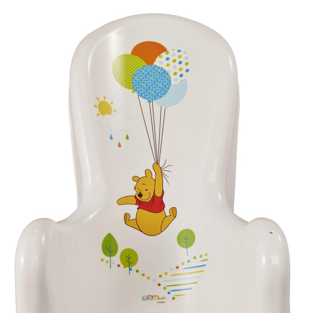 0-6 months Leon white Keeeper Winnie Anatomical baby bath seat with non-slip function