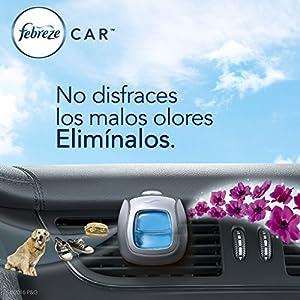 Febreze Car Vent Clips Air Freshener and Odor Eliminator Pack