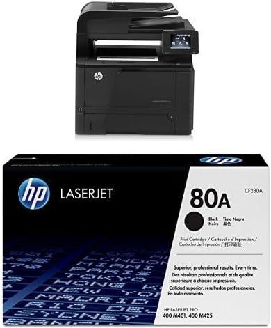 HP LaserJet Pro M 425 dw Pack - Impresora multifunción láser + ...
