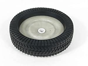 Agri-Fab 44985 Lawn Tractor Lawn Sweeper Attachment Wheel Assembly Genuine Original Equipment Manufacturer (OEM) Part White