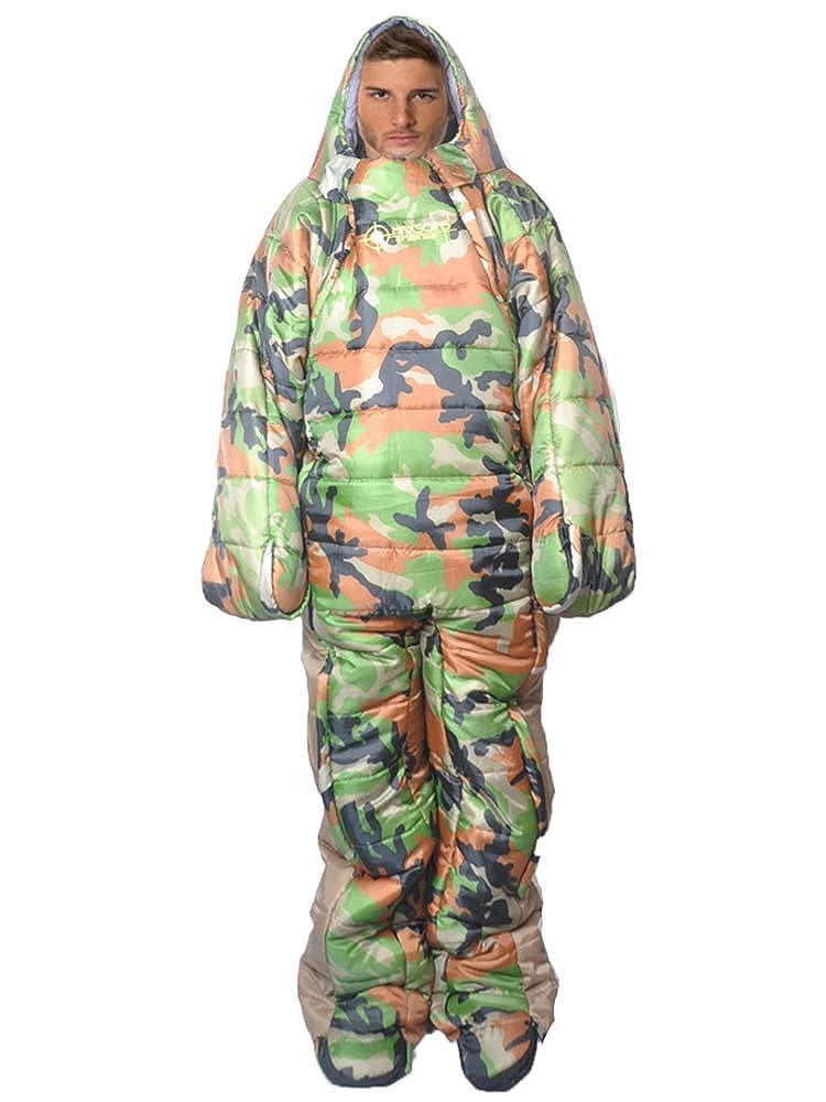 (ネルロッソ) NERLosso 寝袋 シュラフ 人型 冬用 暖かい 封筒 マミー マット 防寒 コンパクト収納 正規品 cka24344 B07MB3NVFR ダークグリーン3 L L|ダークグリーン3