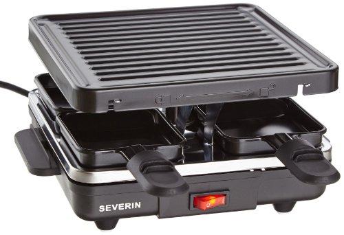 Severin RG 2686 Raclette-Grill, 4 Pfännchen