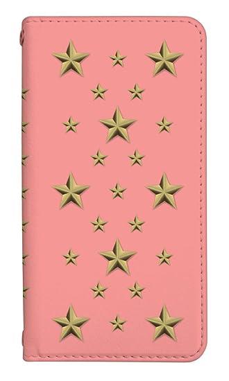 3bfd81c949 スマホケース 手帳型 アイフォンse 手帳型ケース 8133-A. スタッズピンク iphone5 iphone5s