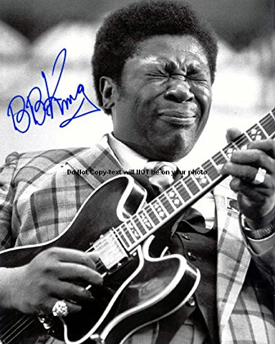 Bb King Autograph - Bb King Autographed Preprint Signed 11x14 Poster Photo