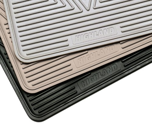 Highland 4602100 All-Weather Black Front Seat Floor Mat