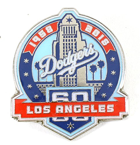 Aminco Mlb - aminco Los Angeles Dodgers 60th Anniversary Pin - Limited Edition 500