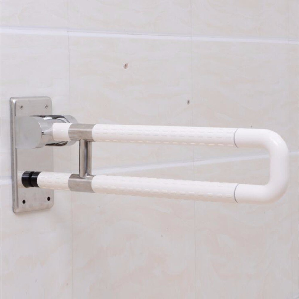 HQLCX Handrail Barrier Free Handrail For Elderly People With Disabled Handrails,White