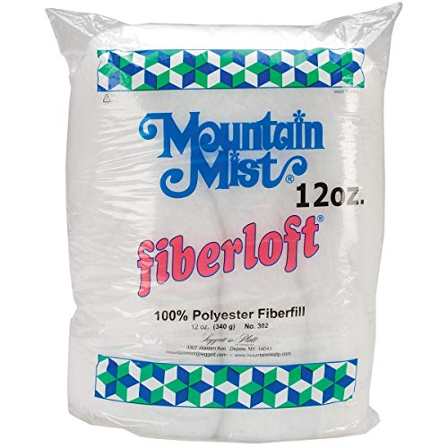Mountain Mist Fiberloft Polyester Stuffing, 12 Ounces ()