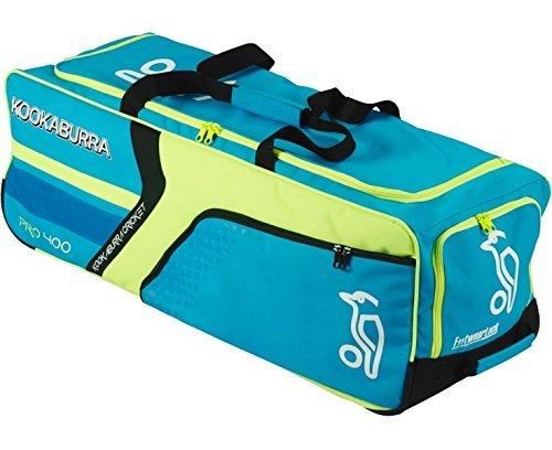 Kookaburra Pro 400 Wheelie Cricket Bag - Blue by Kookaburra by Kookaburra