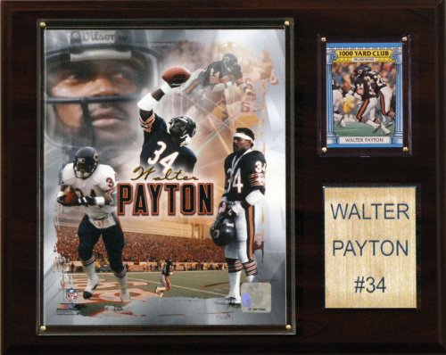 Cover Payton Walter - NFL Walter Payton Chicago Bears Player Plaque