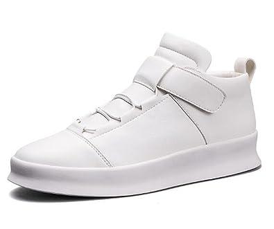 3732ead7e637f0 Homme Chaussure Basket Sport Running Sneakers Loisir Basket Etudiant  Scratch Antichoc Endurance Blanc 39