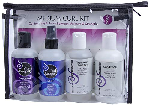 - CURLY HAIR SOLUTIONS - Medium Curl Starter Kit, 3.4 Oz