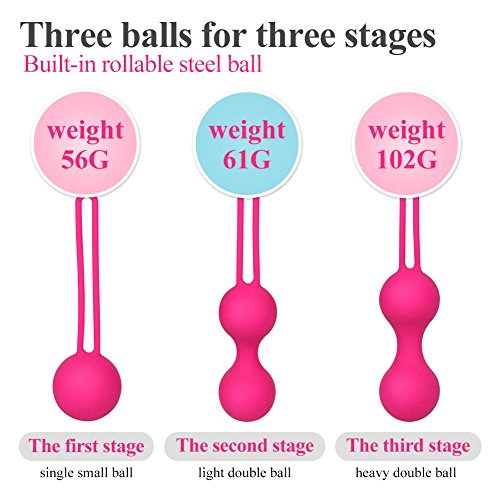 Ankni Kegel Exercise Weight Training Set For Women