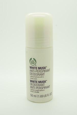 dd3929fea The Body Shop White Musk Anti-Perspirant Deodorant 50ml  Amazon.co ...