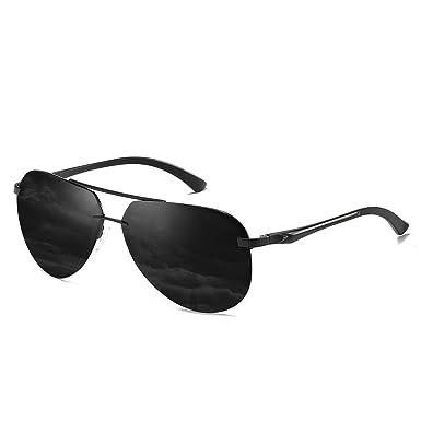 CHEREEKI Gafas de sol, Retro Gafas de Sol Polarizadas Aviador Para Hombre y Para Mujer Protección UV400 Gafas de Sol con Diseño de Moda