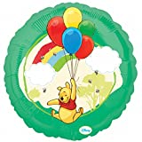 Anagram 18 Inch Winnie The Pooh Circle Foil Balloon (One Size) (Green)