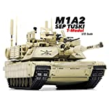 M1A2 SEP TUSKI Death in LRAQ in 2011 1/72 Finished Model Tank