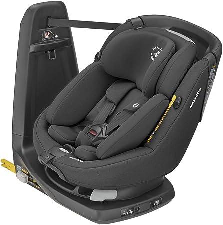Oferta amazon: Maxi-Cosi Axissfix Plus Silla de coche giratoria 360° isofix, silla auto reclinable y contramarcha, con reductor bebé recién nacido, 0 meses - 4 años, color authentic black