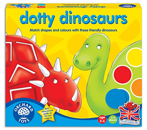 Orchard Toys Dotty Dinosaurs Game