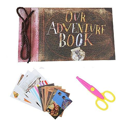 Pulaisen our adventure book scrapbook up movie diy