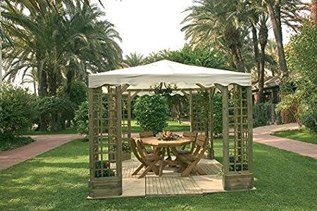 CATRAL EXPORT Cenador Pergola Madera Jardin De Lujo: Amazon.es: Jardín