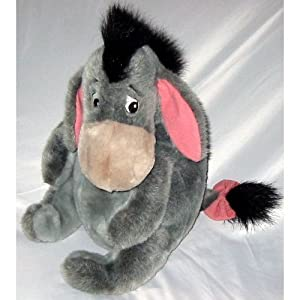 "16"" Disney Store Grey Sitting Eeyore Plush - 51xPtvQpfoL - 16″ Disney Store Grey Sitting Eeyore Plush"