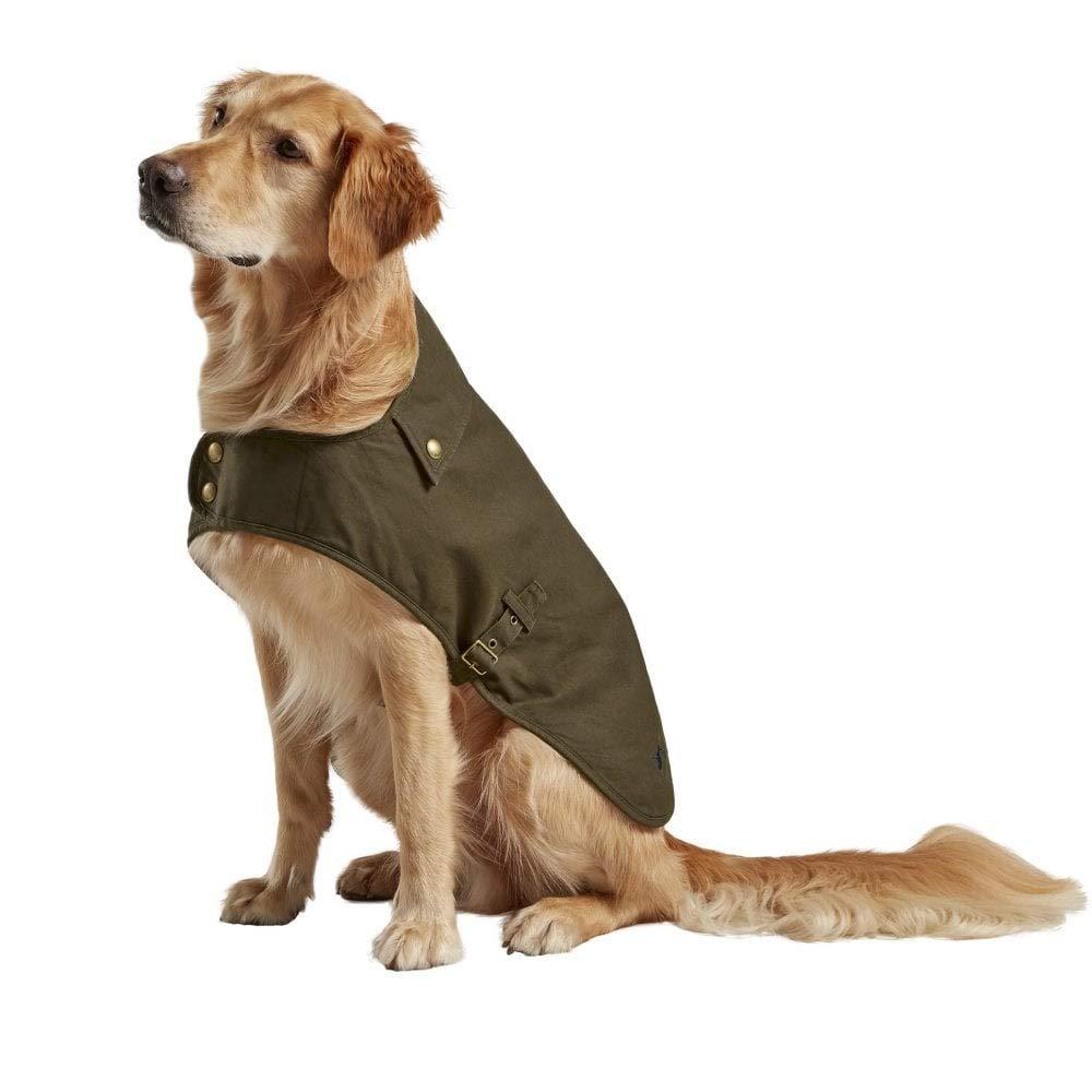 Joules Wax Dog Jacket Medium Olive