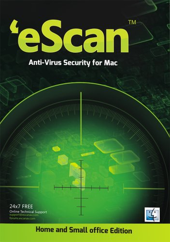 EScan AntiVirus Edition for Home Users 3 Users 1 Year