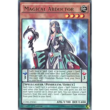 Yu Gi Oh Magical Abductor Core En Clash Of Rebellions Unlimited Edition Rare