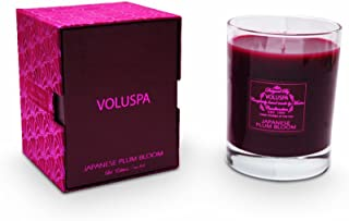 product image for Voluspa Clear Glass Candle Japanese Plum Bloom, 10oz Glass