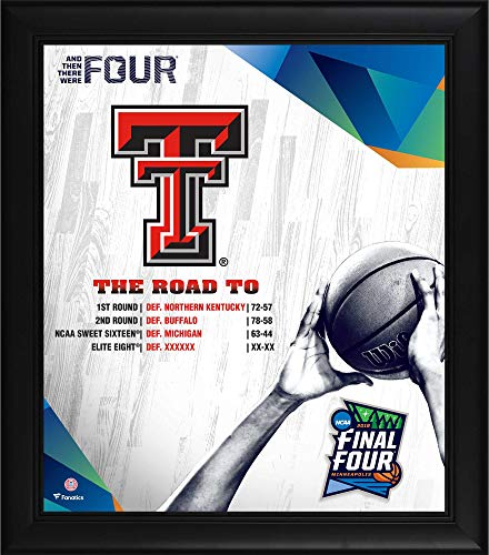 Texas Tech Red Raiders Framed 15