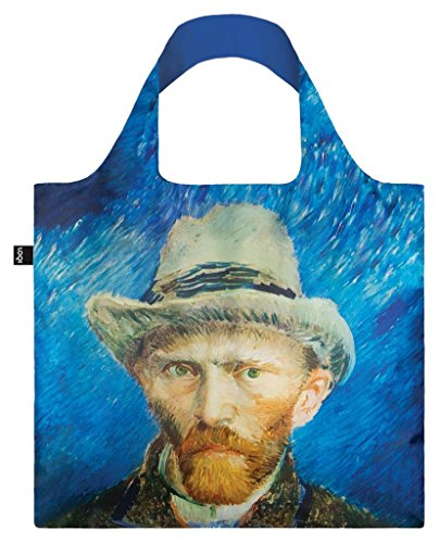 LOQI VINCENT VAN GOGH Self Portrait with Grey Felt Hat Bag - Einkaufstasche