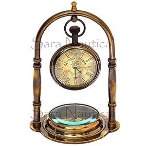 51xPvi0%2BR3L._SS300_ Nautical Themed Clocks