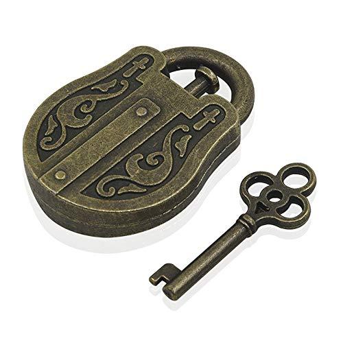 Sannysis Friday Black Deals, Metal Puzzle Lock Cast Metal Brain Teaser Puzzle Magic Trick Toy IQ&EQ Test Toys]()