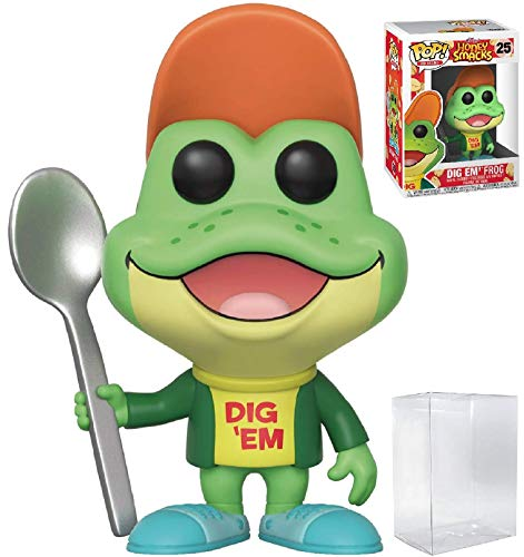 - Kellogg's Honey Smacks Dig Em' Frog Vinyl Figure (Bundled with Pop Box Protector Case) ()