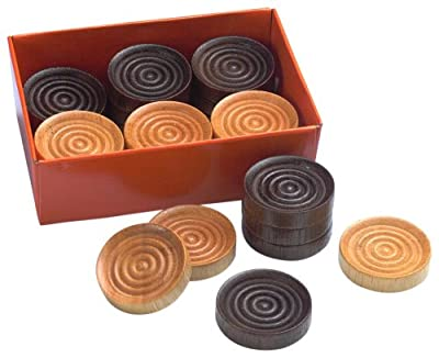 Drueke 831.24 Wood Checkers