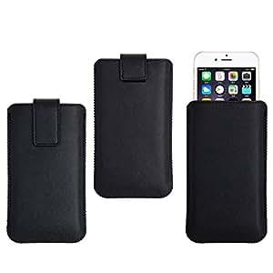 My Way MWCUN003 - Funda para móvil, tamaño XXL, color negro