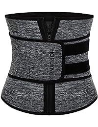 Neoprene Sweat Waist Trainer Corset Trimmer Belt for Women Weight Loss, Waist Cincher Shaper Slimmer