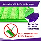 Reusable Mop Pads Compatible with Swiffer Wetjet