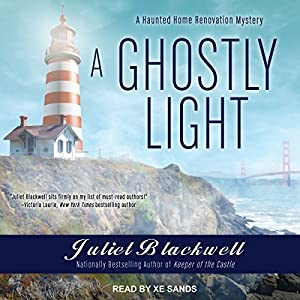 A Ghostly Light by Juliet Blackwell cozy paranormal mystery audiobook review